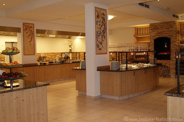 Elegante Restaurant & Büffet Räume Foto von Hotel