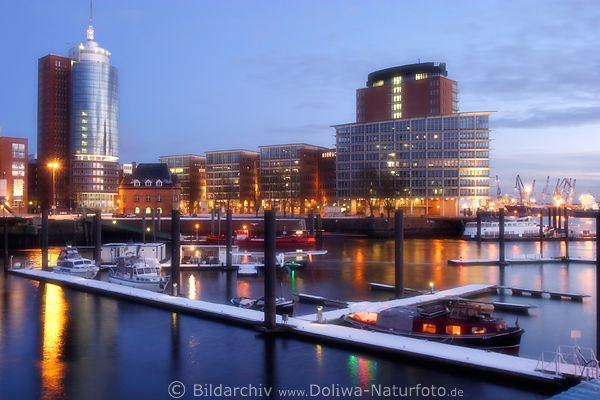 winter in hamburg hafen landschaft bild fotokunst stimmung weiches d mmerungslicht. Black Bedroom Furniture Sets. Home Design Ideas