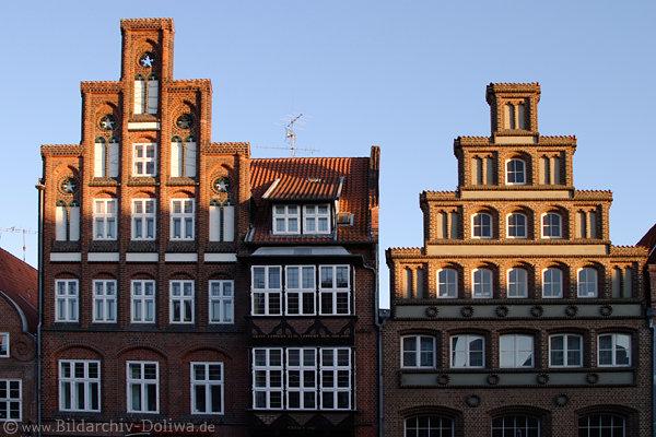 Architekten Lüneburg altstadt fassaden foto lüneburg historische backsteinhäuser im