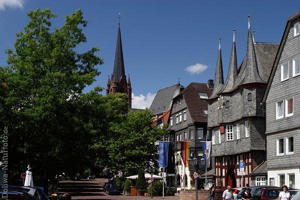Frankenberg Eder Altstadt Foto Altes Rathaus
