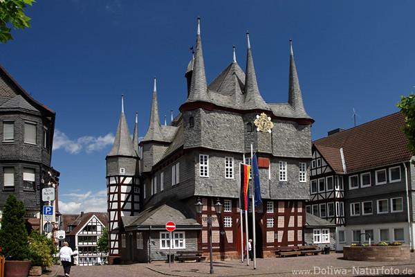 Frankenberg An Eder Wahrzeichen Fotos Historische