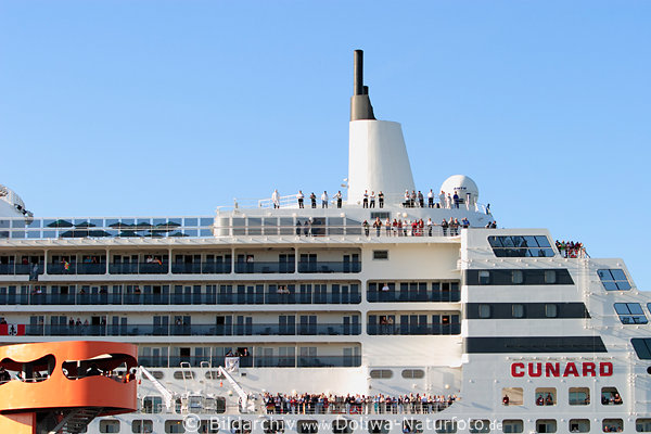 queen mary 2 passagiere