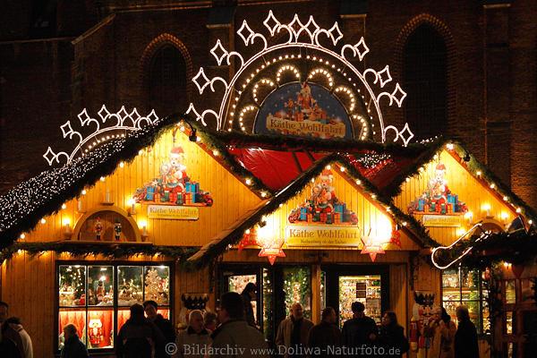 Hannover Weihnachtsmarkt.Kathe Wohlfahrt Weihnachtsmarkt Bunter Aventstand Packchen