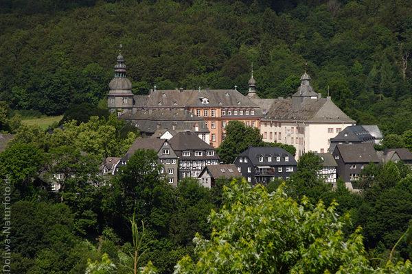 Schloss Berleburg Foto, ehemalige Grafschaft Residenz