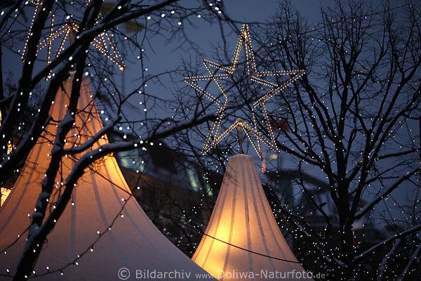 Lichterketten Am Himmel