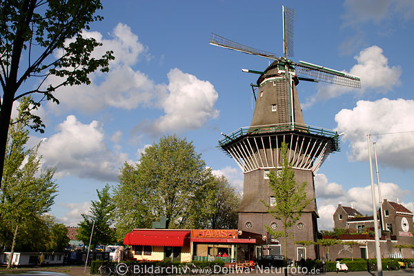 Windm 252 Hle De Gooyer Molen Foto Amp Fahrr 228 Der In Amsterdam
