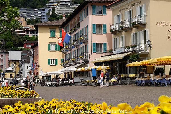 Ascona promenade ascona 4 ascona 5 ascona bucht ascona albergo for Design hotel tessin