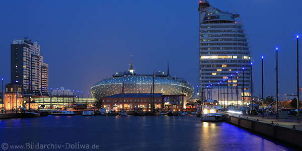 Bremerhaven Reise Bilder Nordsee Hafenstadt Landschaft